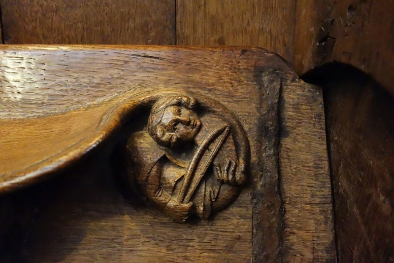 Beyond the classroom medieval wood carvings christina smith