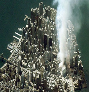 Structural engineer describes collapse of the World Trade