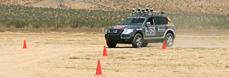 Darpa car course