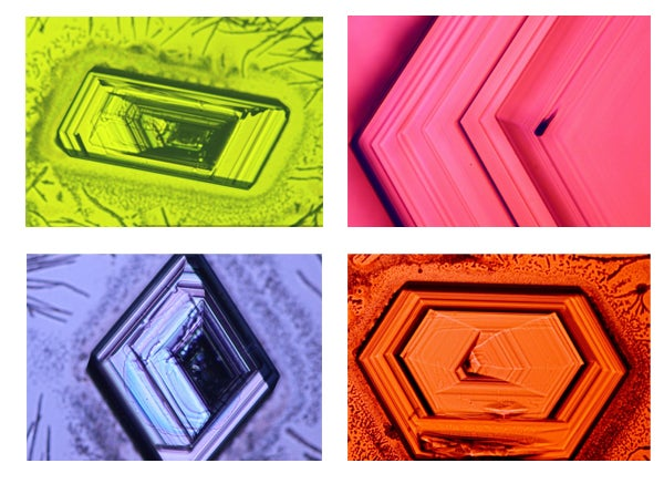 Nano-scale diamondoid crystals