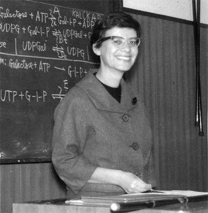 Esther Lederberg Pioneer In Genetics Dies At 83
