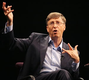 Bill Gates was interviewed Nov. 15 by Charlie Rose at the Technet Innovation Summit