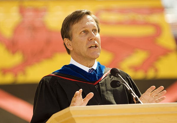 Dana Gioia, chairman of the National Endowment for the Arts