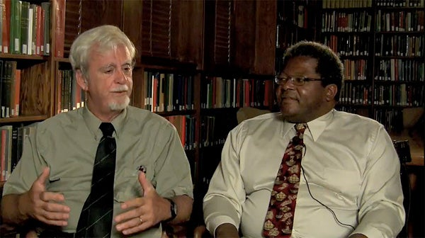 Professors John Perry and Ken Taylor
