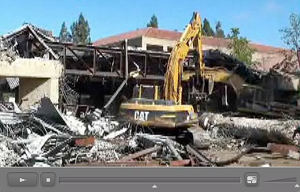 Kresge Auditorium demolition
