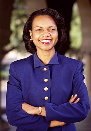 Condoleezza Rice on returning to campus