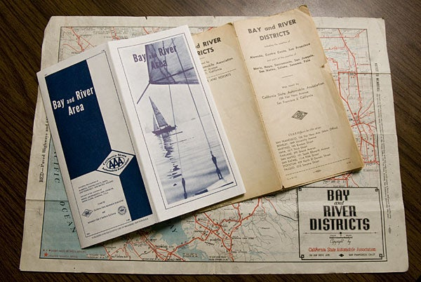 Historical AAA maps of California find their way to Stanford library – Aaa Travel Maps And Directions