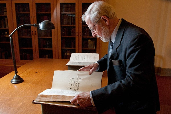 A study of Bede has been Professor Emeritus George Brown's lifetime's work.