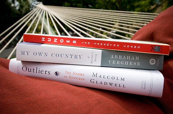 Books selected for Three Books Program