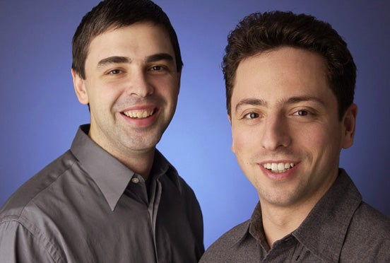 The search engine at the heart of Google, which was invented by Larry Page and Sergey Brin when they were Stanford graduate students, is the most financially successful invention licensed by OTL.
