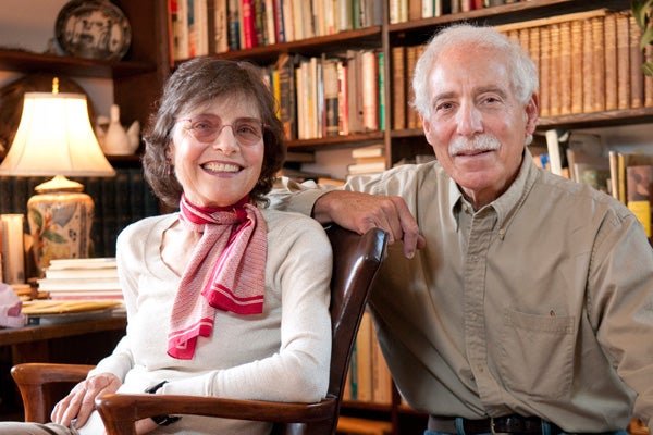Mary and John Felstiner will teach a course in winter on the creative resistance during the Holocaust.
