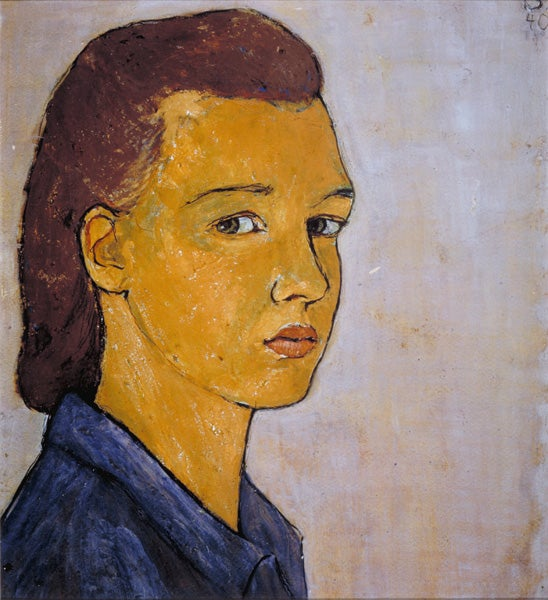 Charlotte Salomon created 1,300 autobiographical paintings, including this self-portrait, during her time in the south of France while the Nazis prepared to take Paris.