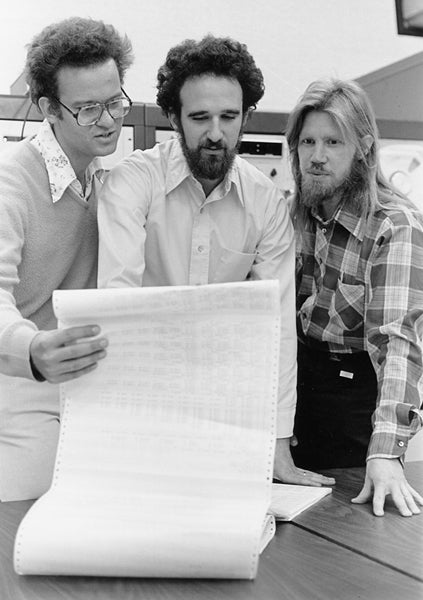 Richard W. Hamming medalists Ralph Merkle, Martin Hellman and Whit Diffie developed the first public key cryptography exchange in 1975.