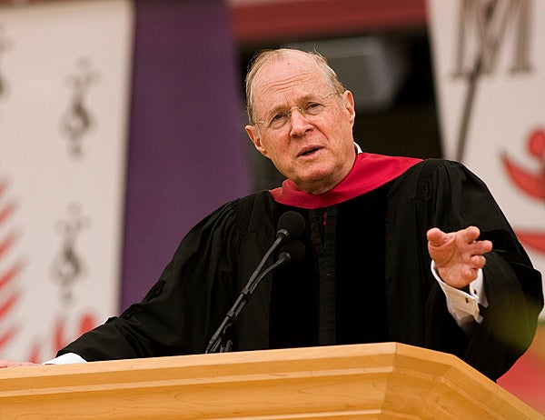 U.S. Supreme Court Justice Anthony Kennedy was the speaker at the 118th Commencement.