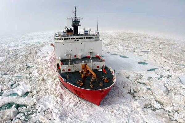 U.S. Coast Guard ship the Healy