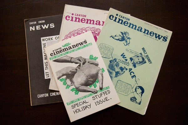 Canyon Cinema News Magazine