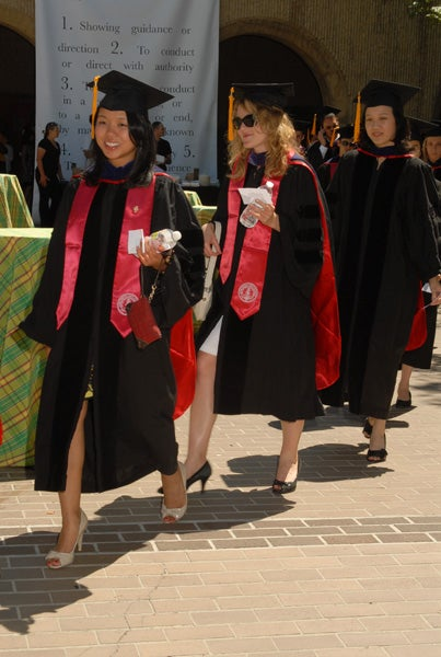 The Law School Class of 2010 included more than 200 graduates.