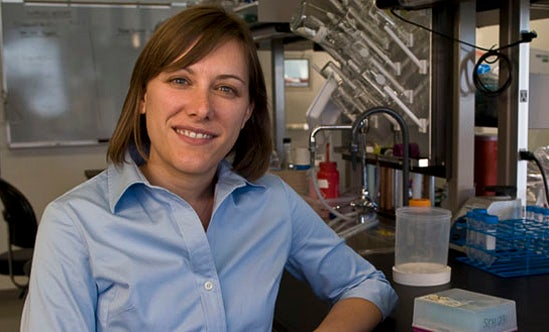 Sarah Heilshorn, assistant professor of materials science and engineering