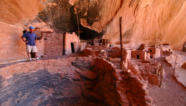 Cliff dwelling at Navajo Nation National Monument