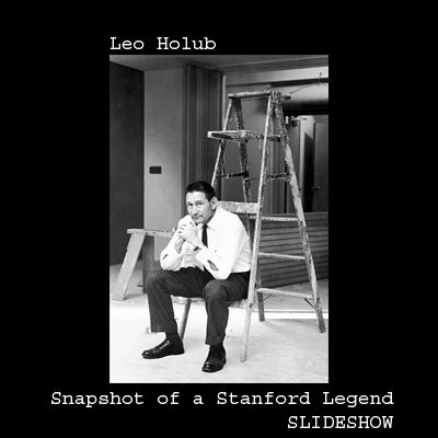 Slideshow of works by Leo Holub