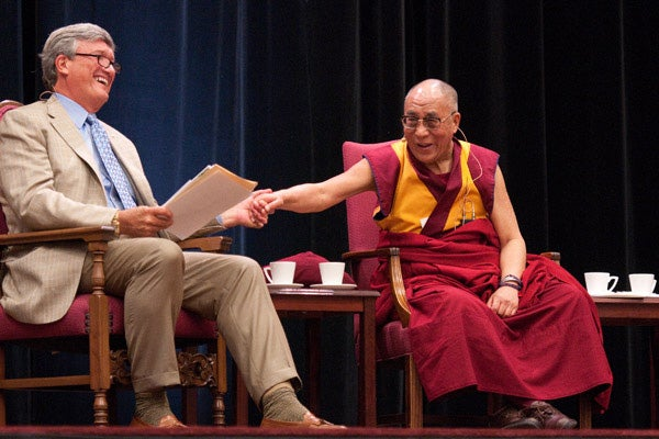 James Doty and the Dalai Lama