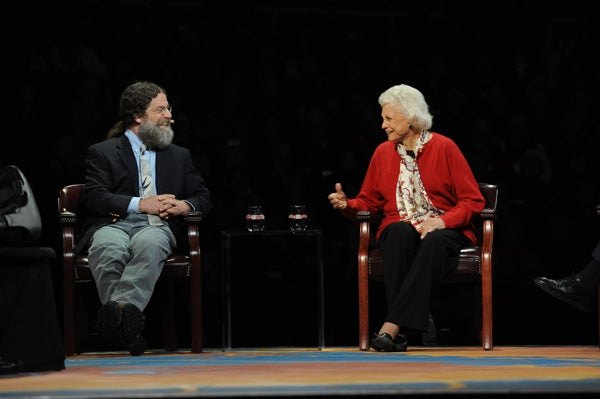 Robert Sapolsky and Sandra Day O'Connor