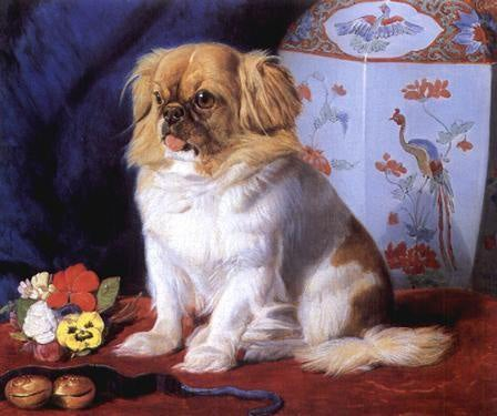 Friedrich Keyl painting of Looty