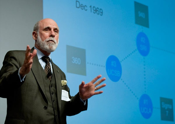 A Father Knows Best Vint Cerf Re Thinks The Internet In