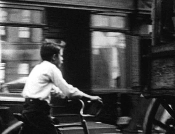 Image from Helen Levitt's film In the Street