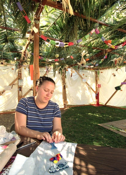 Event to mark the Jewish holiday of Sukkot