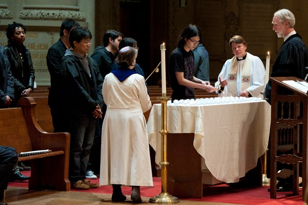 Stanford vigil for victims of Japan disaster