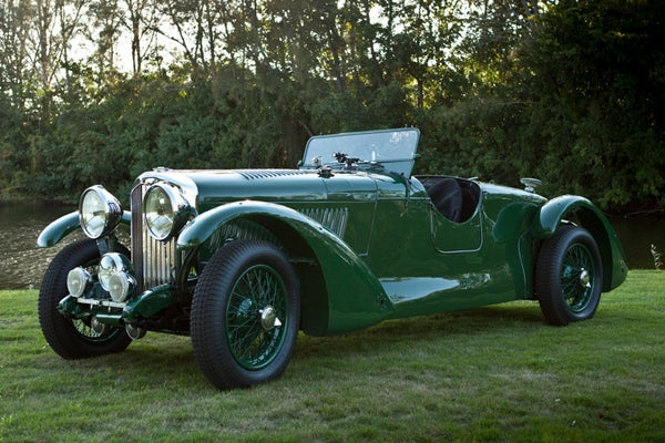 1933 Eddie Hall Bentley