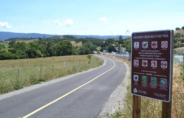 Part of the Matadero Trail