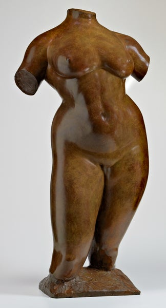 Gaston Lachaise's 'Torso of Elevation'