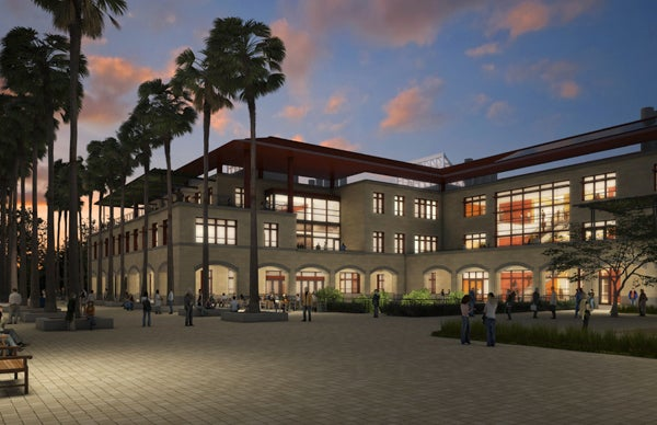Rendering of the Bioengineering and Chemical Engineering Building