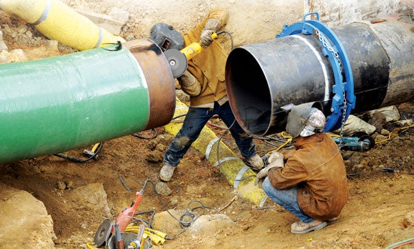 Natural Gas Pipeline For Home