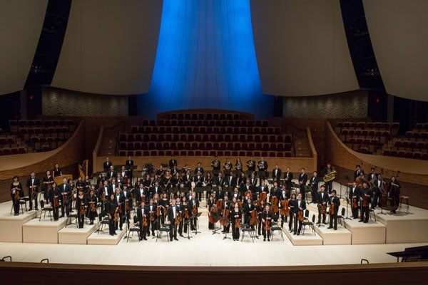 Interior of the new Bing Concert Hall