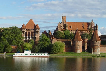 Malbork Castle in northern Poland