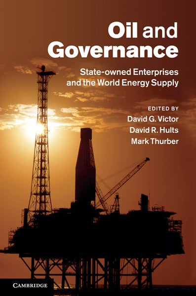 Bookcover for 'Oil and Governance'