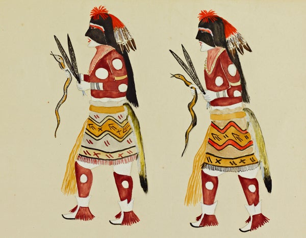 Hopi Snake Dancers, Thomas Vigil (Pan Yo Pin)