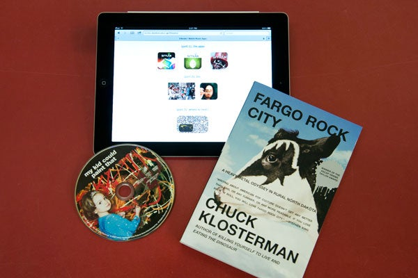 This year's Three Books selections include apps, a film and a book.