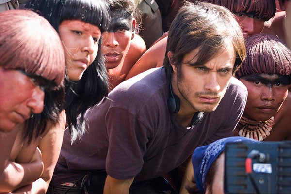 Gael Garcia Bernal as Sebastian the director of an historical epic on Christopher Columbus in 'Even the Rain' (Tambien La Lluvia)