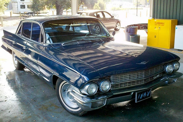 The 1962 Cadillac DeVille