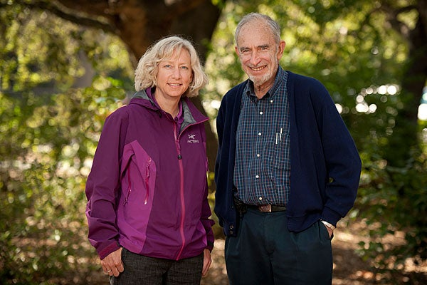 Gretchen Daily and Paul Ehrlich portrait