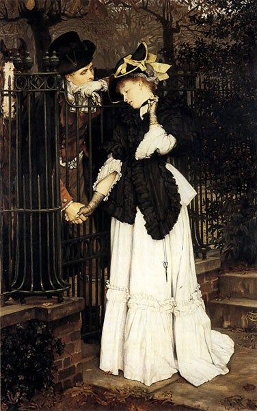 'The Farewell' by James Joseph Tissot