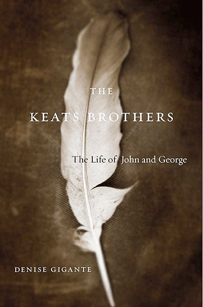 Cover of 'The Keats Brothers'