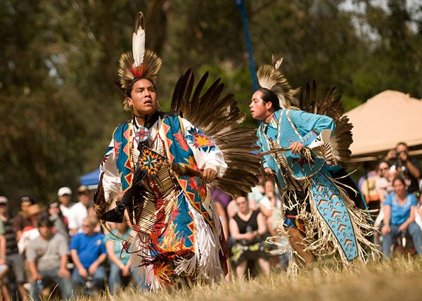Nico Phoenix competing in 2009 Stanford Powwow