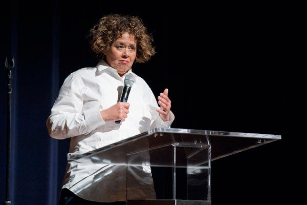 Anna Deavere Smith at Stanford