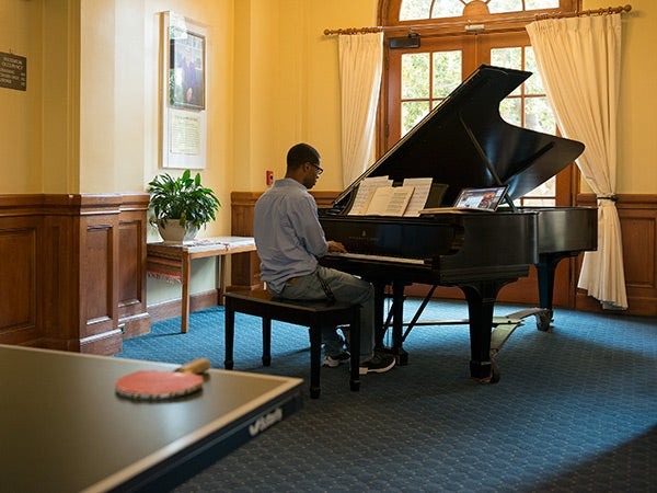 A bounty of campus pianos