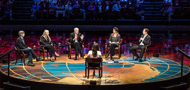 The Roundtable panel discusses the neuroscience and the brain in the 21st century